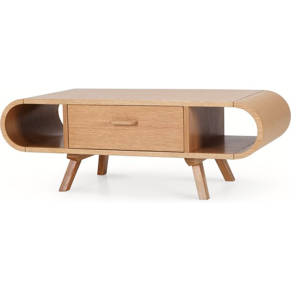 18. Fonteyn Coffee Table, Oak, CTBFON027ZOK-UK, Light Wood: £299, Made.com