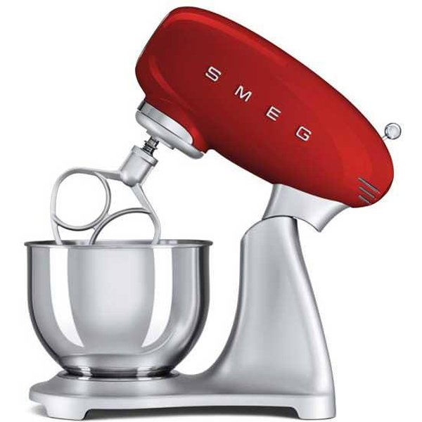 7. SMF01RDUK Red Retro Stand Mixer: £349.99, Simply Electricals
