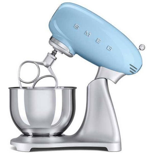 8. SMF01PBUK Pastel Blue Retro Stand Mixer: £349.99, Simply Electricals
