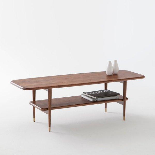42. Watford Solid Walnut Coffee Table: £360, La Redoute