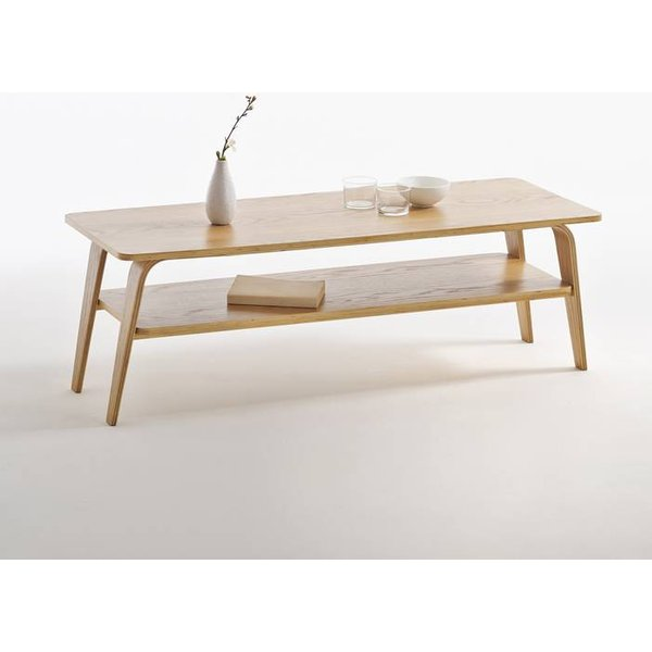 15. Jimi Double Top Coffee Table, Oak: £143, La Redoute