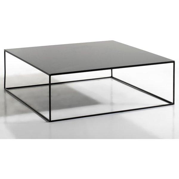 63. Romy Square Metal Coffee Table, Black: £337, La Redoute