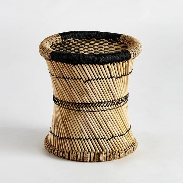 5. Tingda Checkered Side Table, Natural/Black: £81, La Redoute
