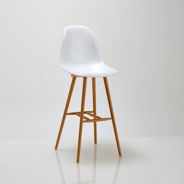 1. Jimi Bar Chair, White: £143, La Redoute