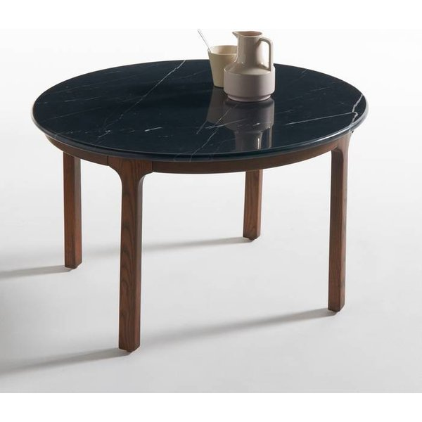 44. Botello Coffee Table with Marble Top, Black: £286, La Redoute