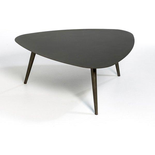 68. Small THEOLEINE Coffee Table, Gun Metal: £337, La Redoute