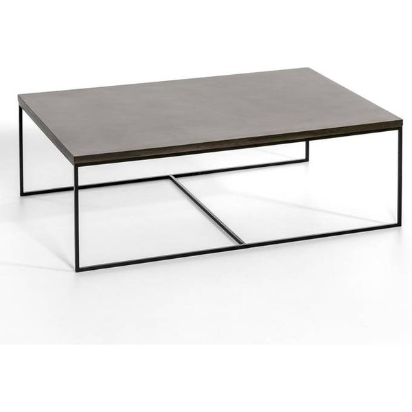 69. Auralda Large Coffee Table, stonewashed grey: £557, La Redoute