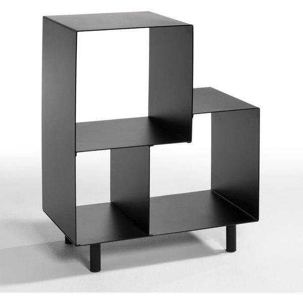 20. Sappari Metal Bookcase, Black: £224, La Redoute