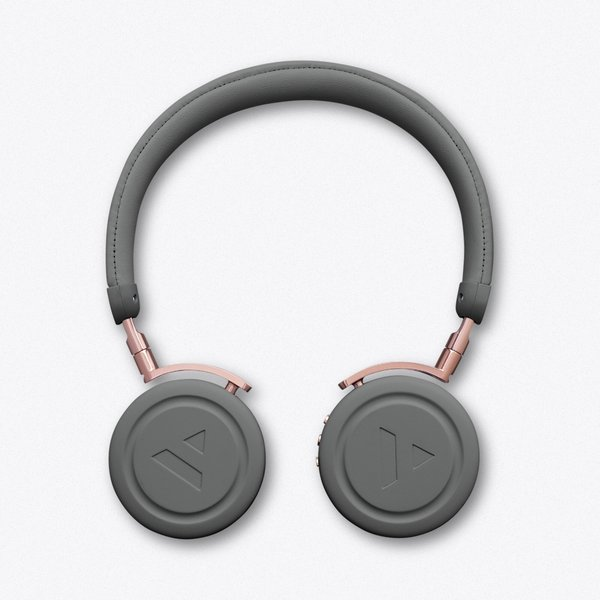 41. Commute Rail Grey Wireless Bluetooth Headphones: £135, Fy