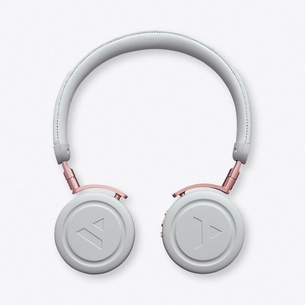 39. Commute Misty Grey Wireless Bluetooth Headphones: £135, Fy