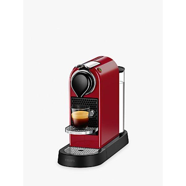 13. Nespresso CitiZ Coffee Machine by KRUPS: £129.99, John Lewis