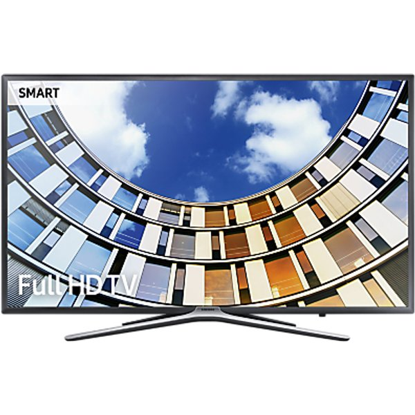 46. Samsung UE43M5500 LED Full HD 1080p Smart TV, 43 with TVPlus, Dark Grey: £449, John Lewis