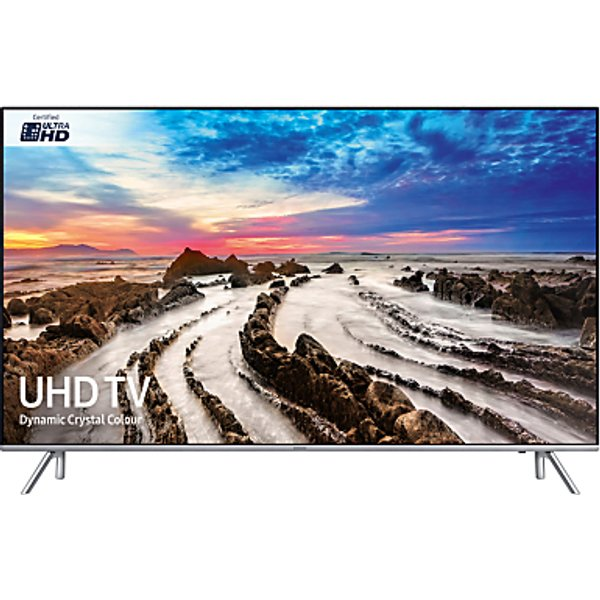 86. Samsung UE55MU7000 HDR 1000 4K Ultra HD Smart TV, 55 with TVPlus/Freesat HD, Dynamic Crystal Colour : £999, John Lewis