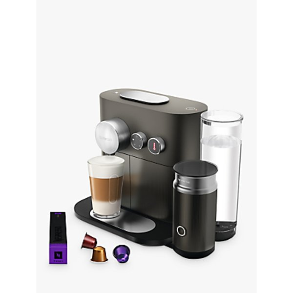 4. Nespresso Expert M500 Coffee Machine with Aeroccino by Magimix, Grey: £249.99, John Lewis