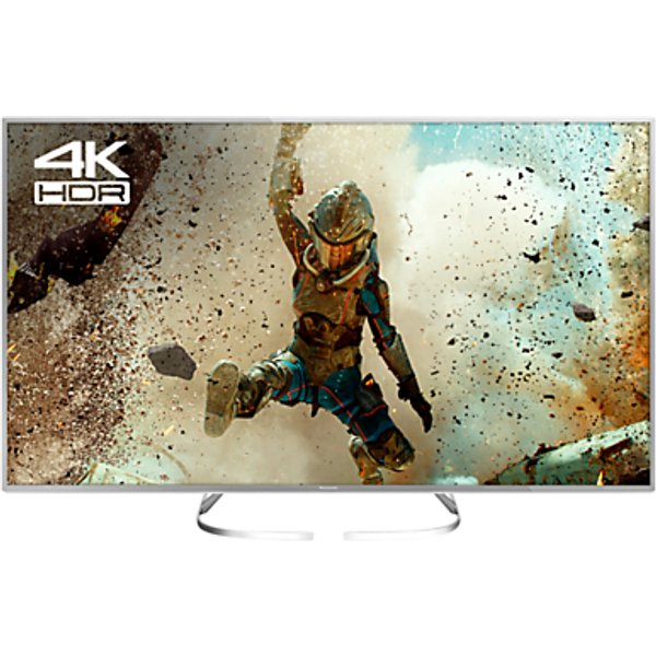 48. Panasonic 50EX700B LED HDR 4K Ultra HD Smart TV, 50 with Freeview Play, Slim Metallic Bezel & Switch: £699, John Lewis