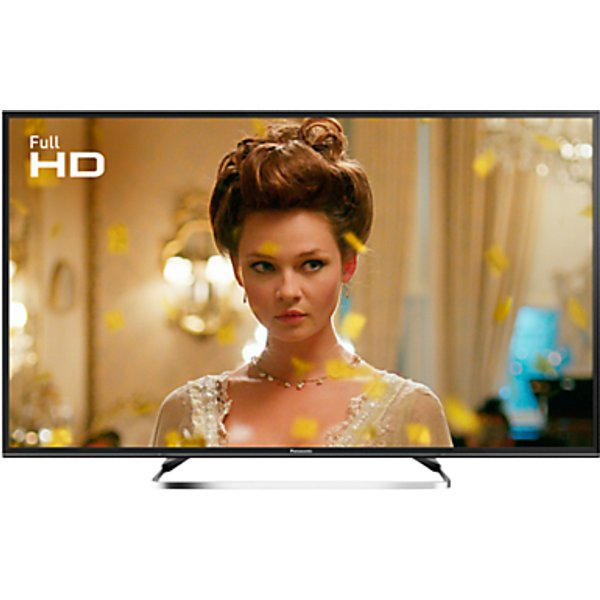 52. Panasonic 49ES503BSAT LED Full HD 1080p Smart TV, 49 With Freeview Play, Freesat HD & Adaptive Backl: £599, John Lewis