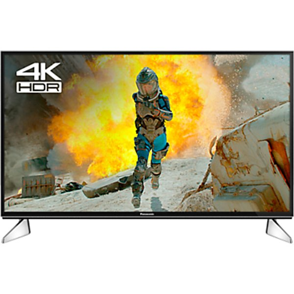 54. Panasonic 40EX600B LED HDR 4K Ultra HD Smart TV, 40 with Freeview Play & Switch Design Adjustable St: £489, John Lewis