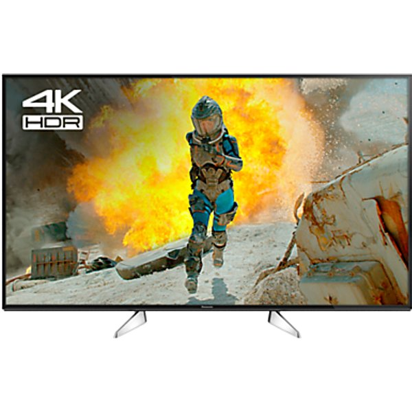 50. Panasonic 49EX600B LED HDR 4K Ultra HD Smart TV, 49 with Freeview Play & Switch Design Adjustable St: £609, John Lewis