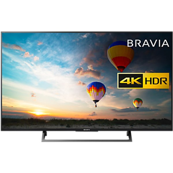 40. Sony Bravia 43XE8005 LED HDR 4K Ultra HD Smart Android TV, 43 with Freeview HD & Youview, Black: £799, John Lewis