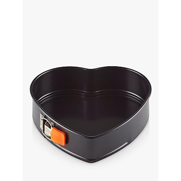 12. Le Creuset Heart Springform Cake Tin, 25cm: £26, John Lewis