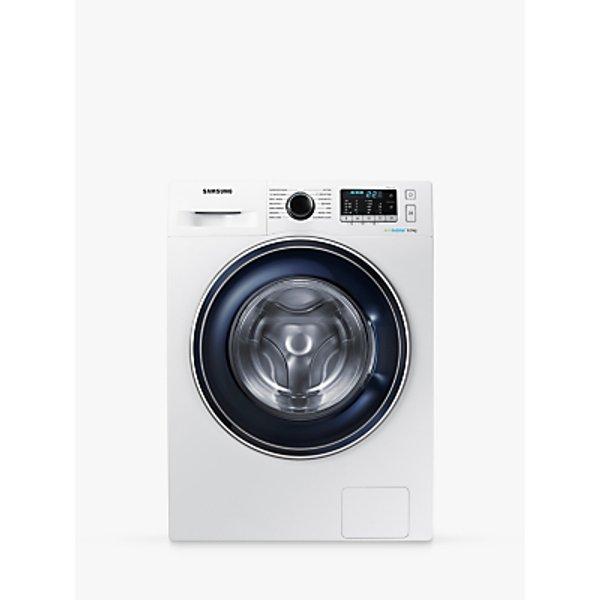 7. Samsung WW80J5555FW/EU ecobubble™ Freestanding Washing Machine, 8kg Load, A+++ Energy Rating, 1400: £379, John Lewis