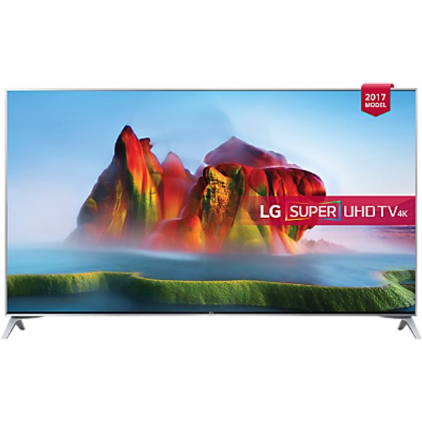 57. LG 49SJ800V LED HDR Super UHD 4K Ultra HD Smart TV, 49 with Freeview Play, Ultra Slim Design & Harma: £749, John Lewis