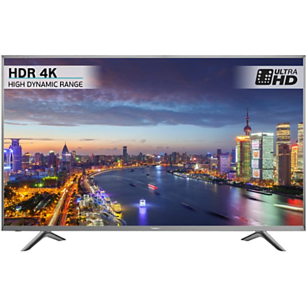 65. Hisense H45N5750 LED HDR 4K Ultra HD Smart TV, 45 with Freeview HD, Silver: £459, John Lewis