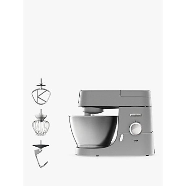 18. Kenwood KVC3100S Chef Premier Stand Mixer, Silver: £199.95, John Lewis