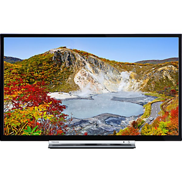 29. Toshiba 24W3753DB LED HD Ready 720p Smart TV, 24 with Built-In Wi-Fi, Freeview HD & Freeview Play, B: £199, John Lewis