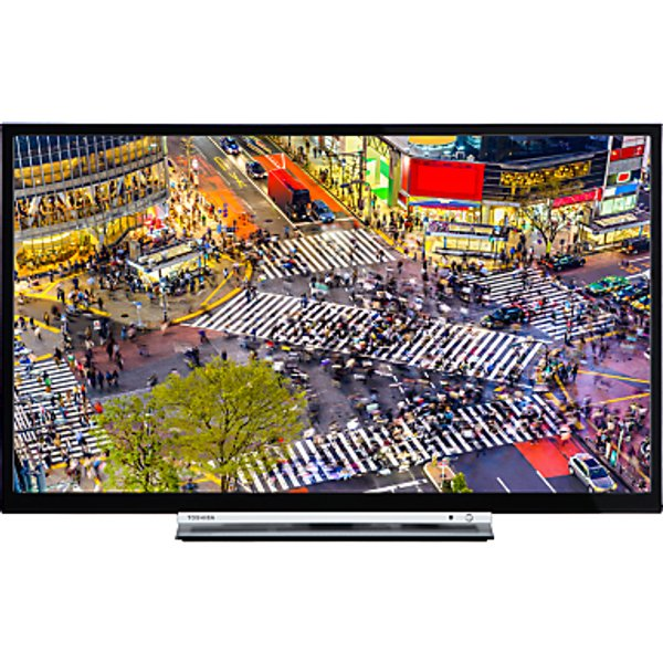 26. Toshiba 24D3753DB LED HD Ready 720p Smart TV/DVD Combi, 24 with Built-In Wi-Fi, Freeview HD & Freevi: £229, John Lewis