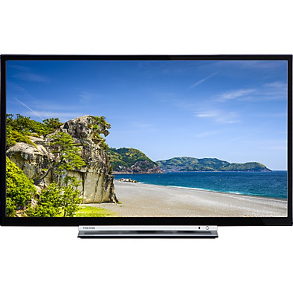 25. Toshiba 32D3753DB LED HD Ready 720p Smart TV/DVD Combi, 32 with Built-In Wi-Fi, Freeview HD & Freevi: £299, John Lewis