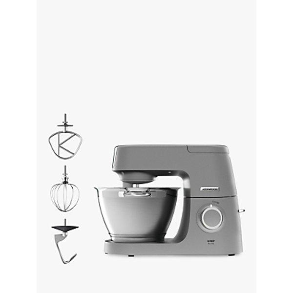 16. Kenwood KVC5100S Chef Elite Stand Mixer, Silver: £339.95, John Lewis