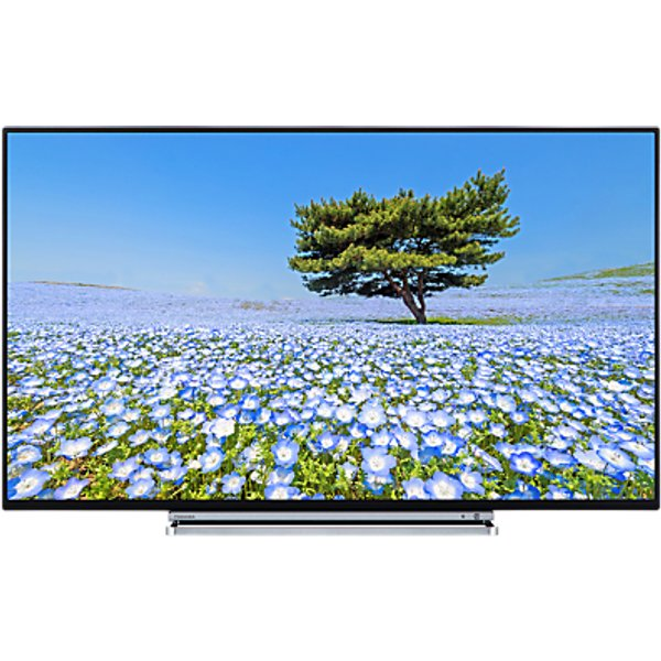 27. Toshiba 43U6763DB LED 4K Ultra HD Smart TV, 43 with Built-In Wi-Fi, Freeview HD & Freeview Play, Bla: £379, John Lewis