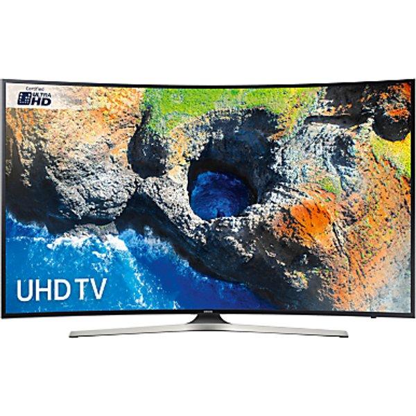 83. Samsung UE49MU6220 Curved HDR 4K Ultra HD Smart TV, 49 with TVPlus, Black: £799, John Lewis