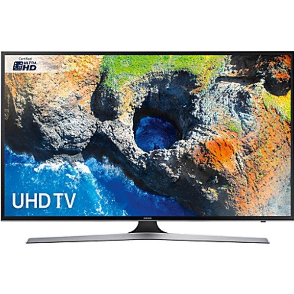 82. Samsung UE40MU6120 HDR 4K Ultra HD Smart TV, 40 with TVPlus, Black: £499, John Lewis