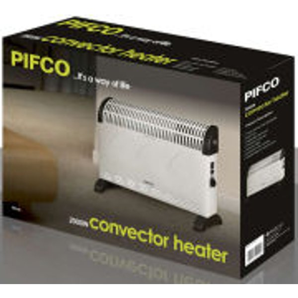 2. Pifco PE146 2000W Turbo Convection Heater with Fan: £26.99, Zavvi