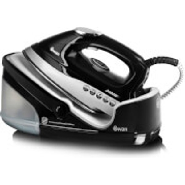 32. Swan SI9021BMN Automatic Steam Generator Iron - Black: £63.99, Zavvi