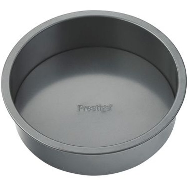 5. 8 Inch Round Deep Cake Tin Loose Base: £5.99, QD stores
