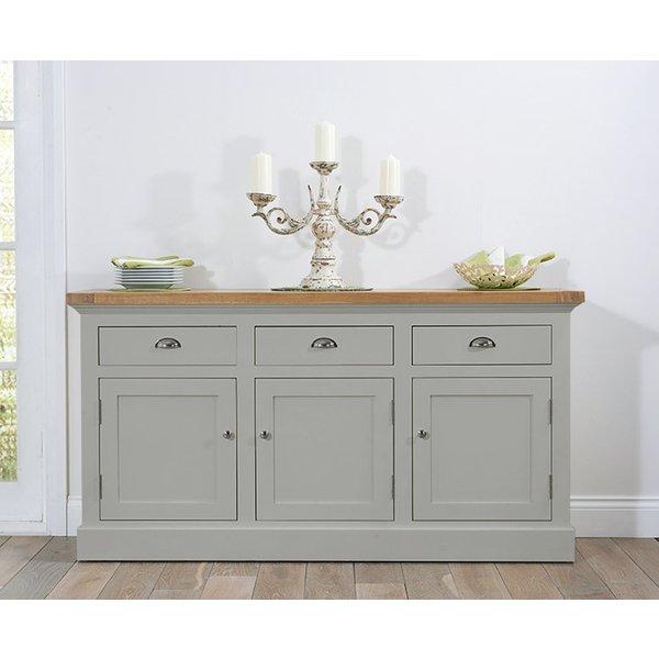 19. Cavendish/Torino Oak & Grey Large Sideboard: £549, Great Furniture Trading Company