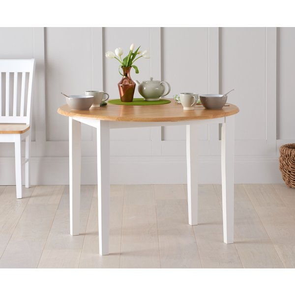 7. Genoa 100cm Drop Leaf Extending Dining Table: £199, Great Furniture Trading Company