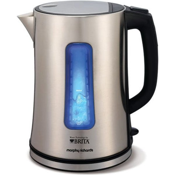 1. Morphy Richards Accents 1.5L 3kW Brita Water Filter Jug Kettle: £44.99, Robert Dyas