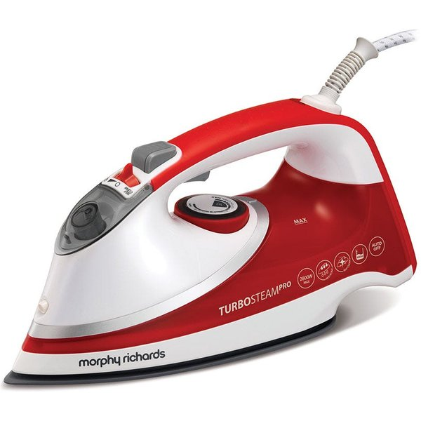 24. Morphy Richards Turbosteam Pro 2800W Iconic Steam Iron: £44.99, Robert Dyas