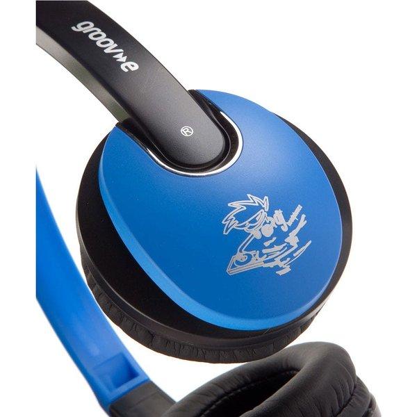 9. Groov-e Kidz DJ Style Headphones - Blue: £9.99, Robert Dyas