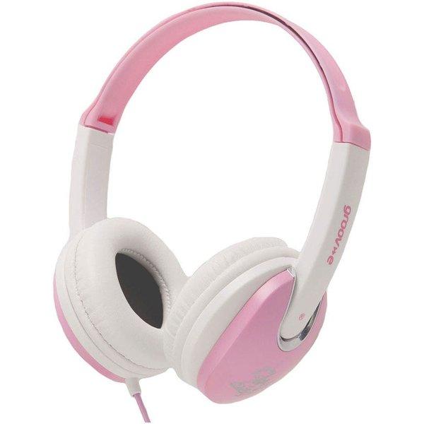 8. Groov-e Kidz DJ Style Headphones - Pink: £9.99, Robert Dyas