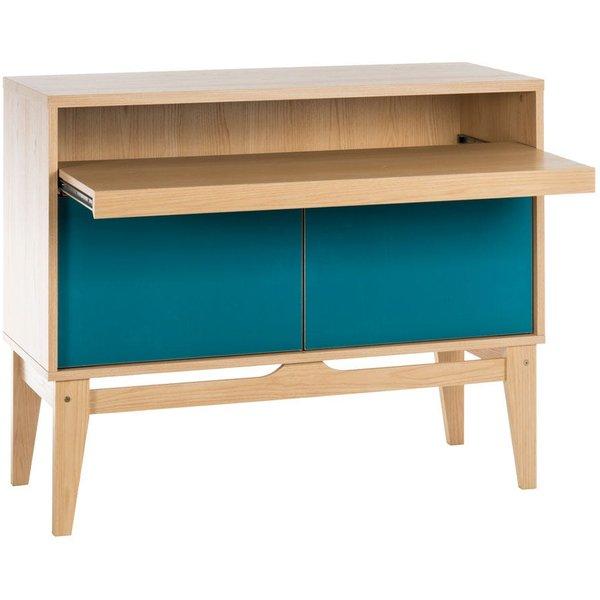 18. Teknik Contemporary Bureau/Desk/Sideboard for the Home Office: £229.99, Robert Dyas