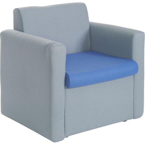 29. Alto Reception Unit Armchair, Blue: £179, Ryman