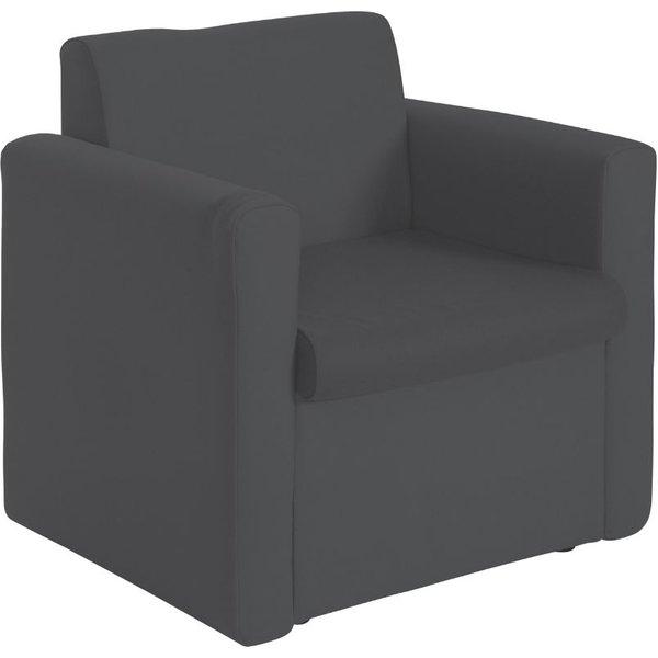 28. Alto Reception Unit Armchair, Charcoal: £179, Ryman