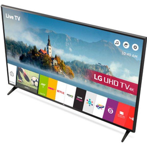 31. LG 55UJ630V 55 4K Ultra HD Smart LED TV Active HDR WebOS 3 5: £799, Sonic Direct