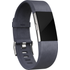FITBIT Charge 2 Leather Accessory Band - Indigo, Large, Indigo