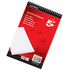 5 Star 80 Page Spiral Note Pad (10 Pack)